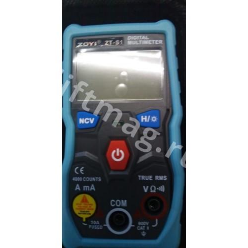 Автоматический цифровой мультиметр ZOYI ZT-S1 True-RMS