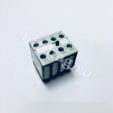Вспом.контакт. 4-пол. 3Н0+1НЗ, размер SO-S12 фронт.монтаж LSZ0D 131 Schrack