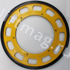 Приводное (фрикционное) колесо поручня 588*330*30 м10