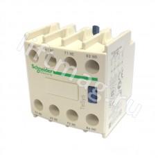 Блок дополнительных контактов фронтальный 2НО+2НЗ LADN22 Schneider Electric