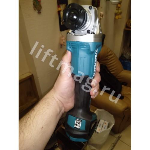 Аккумуляторная угловая шлифовальная машина DGA504RF(401187266)Makita
