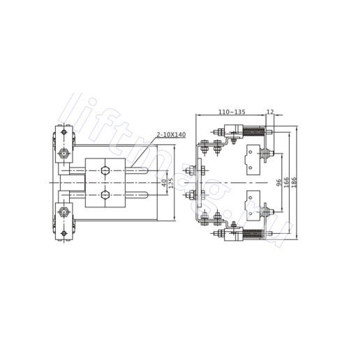 Лифт датчик веса MZT-ACE-038 (грузовзвес OX-320D)