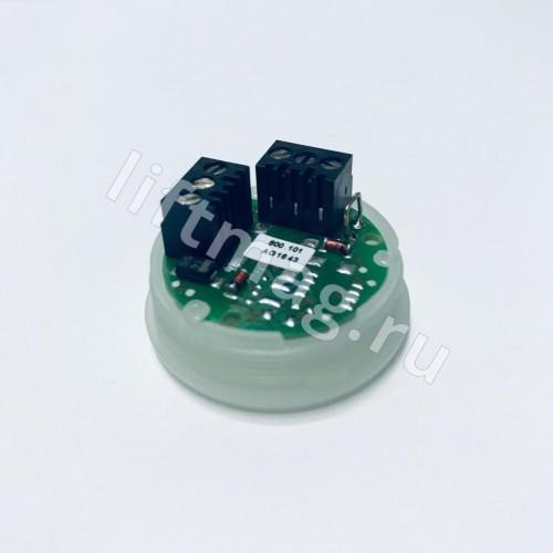 Кнопочный модуль, белый ободок, KM846291G02 Kone (аналог KM846291G01)