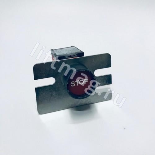 Кнопка СТОП на балюстраду эскалатора GBA 177 HA3 Bernstein