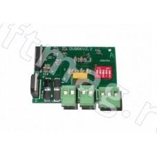 Плата тормозная тиристорная DVBRKV2.2 эскалатора Otis XO-508 (XIZI OTIS)