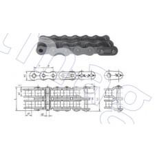 Цепь привода (поручень/гл привод) эскалатора двухрядная, шаг 25,4мм, Тип B. (1 звено)
