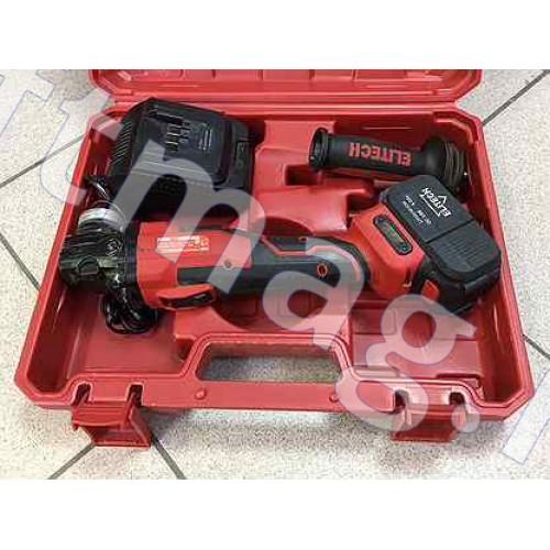 Аккумуляторная угловая шлифовальная машина 125-18БЛ Elitech
