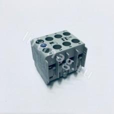 Блок доп. контактов  2HO+2H3  (100KFC22)