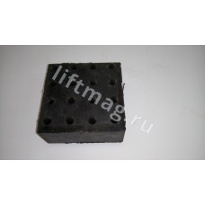 Амортизатор 120X120Х70мм 001.02.00.044 AUTAN