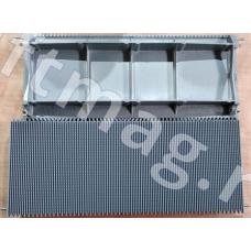 Паллета траволатора алюминиевая серая 1000мм THYSSENKRUPP LM01996
