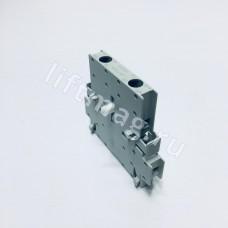Вспом. контакт. 2-пол. 1Н0+1НЗ, размер S0-S12. бокового монтажа LSZ0D711