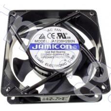 Вентилятор JA1238H2B0N 220в,120х120х38мм, подшипник качения 2600 об/мин