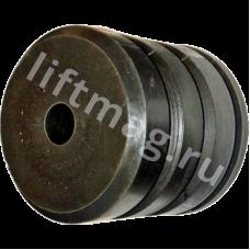 Аутановая часть буфера Ø=100 мм.