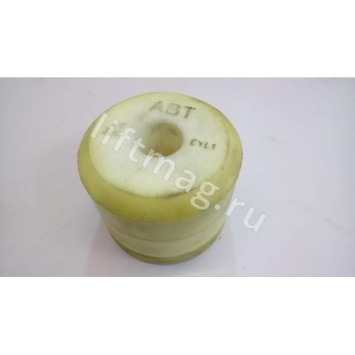 Аутановая часть буфера Ø=125 мм(желтая).