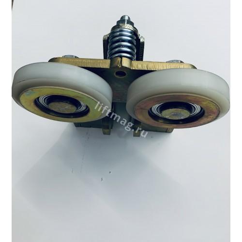 Башмак кабины роликовый с пружинной регулировкой