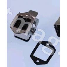 заглушка на 8 контактов шунтирующая пульта режима ревизии эскалатора XIZI OTIS 506 75*40*30