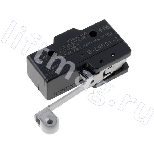 Микропереключатель с лапкой Z-15GW2-B  15А 250V