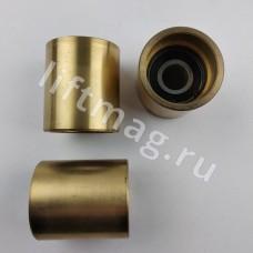 Ролик бронзовый D=50mm H=54mm подш. 6203 поручня эскалатора GAA456DG10