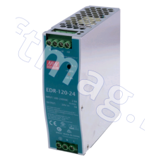 Блок питания 24В, 5А, 120Вт, EDR-120-24, MEANWELL (Замена блока питания G11 (DELTA DRL-24V 120 W1AA)