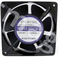 Вентилятор 220в,120х120х38мм, подш, качения 2500 об/мин EC1238A2HBL-7 Evercool